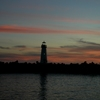 Denise Broadwell Photography - Santa Cruz Harbor Lighthouse at night